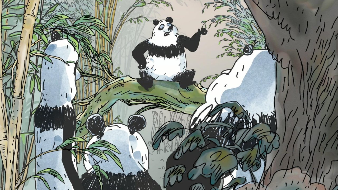 Main still: Pandas in the Mist
